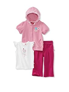 KANZ Baby 3-Piece Knit Set (Pink)