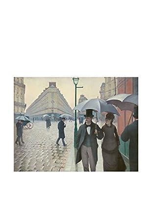Legendarte Lienzo Gustave Caillebotte - Parigi In Un Giorno Di Pioggia