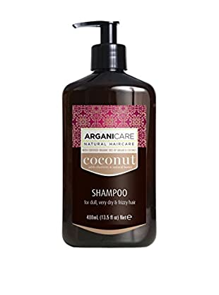 ARGANICARE Champú Coconut For Dull, Very Dry & Frizzy Hair 400 ml