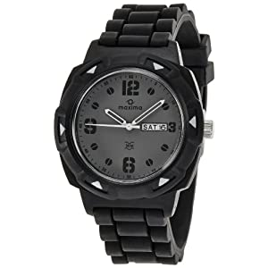 Maxima Analog Grey Dial Men's Watch - 27815PPGW