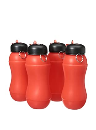 AdNArt Set of 4 Sili-Squeeze (Red)