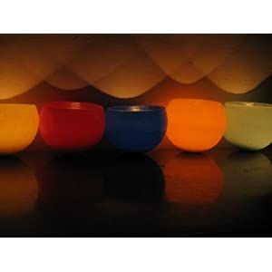 Aroma Shop Brass Floating Candle 6 Inch Globe(Assorted)