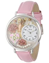 Whimsical Watches Unisex U1220024 Valentine's Day Pink Leather Watch