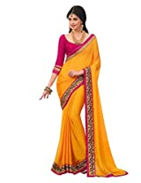 Roop Kashish Saree(1002_Yellow)