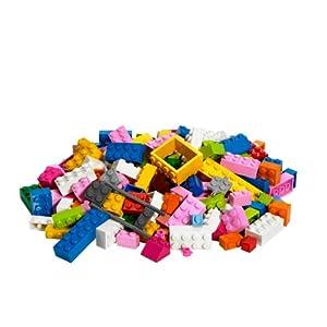 レゴ基本セット。ピンクのバケツ