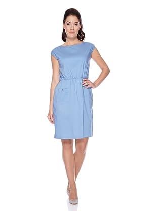 UNQ Baumwollkleid (Blau)