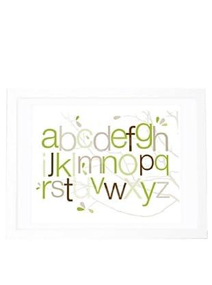 "Olli & Lime George ABC Wall Art, 19.75"" x 27.5"""
