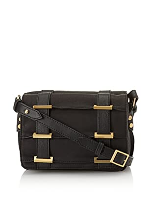 Allibelle Women's Tunnel Cross-Body (Black)