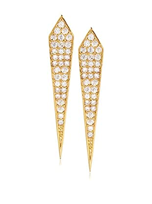 Chloe & Theodora Pavé Spike Earrings