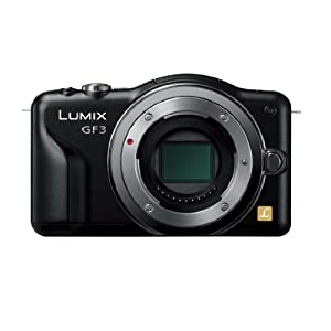 Panasonic デジタル一眼カメラ LUMIX GF3