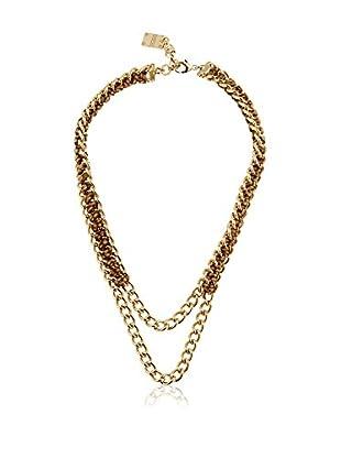 Borbonese Collar 992916 Dorado / Marrón