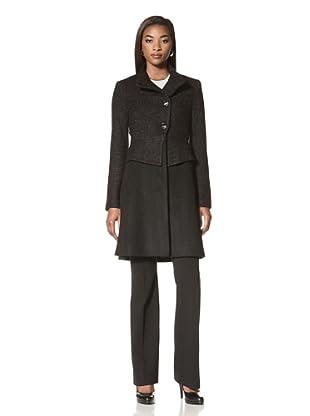 Badgley Mischka Women's Taylor Coat (Black/Twilight)