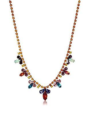 Tova Vintage Inspired Multi Color Necklace