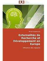 Externalites de Recherche Et Developpement En Europe
