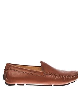Giceri Zapatos Stitching Burnished (marrón)