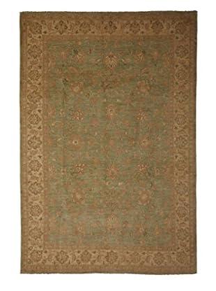 Darya Rugs Oushak Oriental Rug, Green, 6' 1