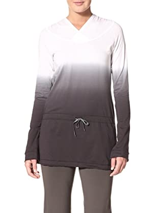 New Balance Women's Dip Dyed Tunic Top (White)