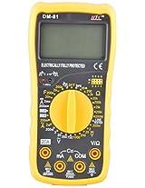 HTC Instruments HTC Instruments DM81 Digital Multimeter Capacitance Diode Transistor Tester