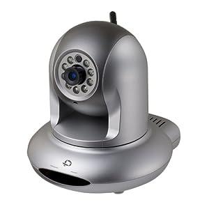 PLANEX ナイトビジョン機能搭載 Wi-Fi/有線対応ネットワークカメラ CS-WMV04N2