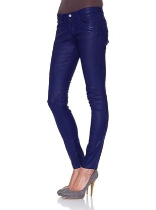 Mila Brant Pantalón Clea Wax (Azul)