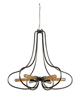 Varaluz The Whole Package 6-Light Chandelier, New Bronze Structure