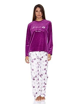 Bluedreams Pijama Tundosado (Violeta)