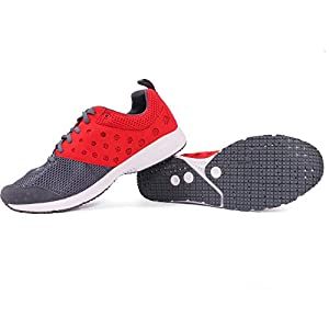 Puma Narita Running Shoes in Grey and Orange Colour