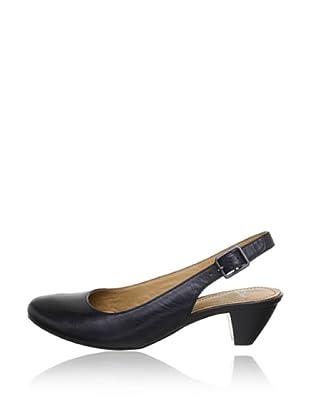 Clarks Zapatos Talón Abierto Treva Abstract (Negro)