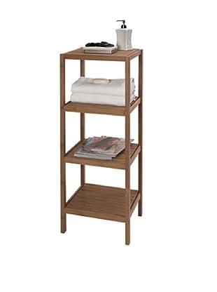 Creative Bath 4-Shelf Bamboo Tower