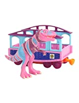 Learning Curve Dinosaur Train Collectible Dinosaur With Train Car: My Friends Are Bipeds: Mr. Daspletosaurus