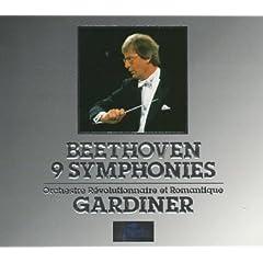 輸入盤CD ガーディナー指揮 ベートーヴェン交響曲全集(6枚組)の商品写真