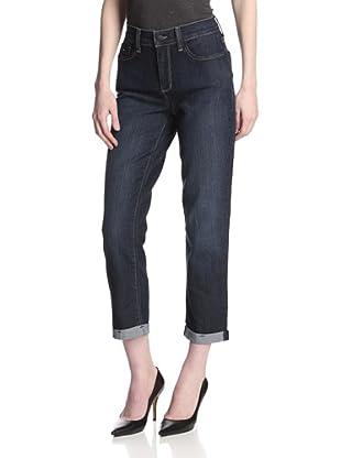 NYDJ Women's Kendall Mini Roll-Up Jean (Hollywood)