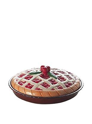 Enjoy Home  Tortenform Cherry braun/rot/beige