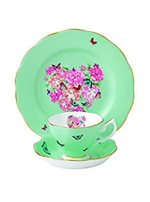 Royal Albert Miranda M Kerr Blessings Teapot Creamer & Saucer 3-Piece Set, Multi