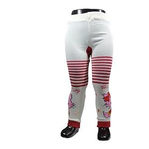 Cameyshop Leggings - Red & White