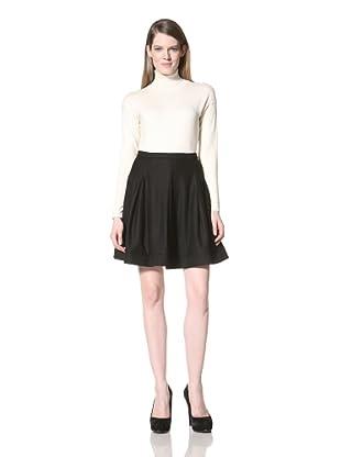 Z Spoke Zac Posen Women's Circle Skirt (Black)