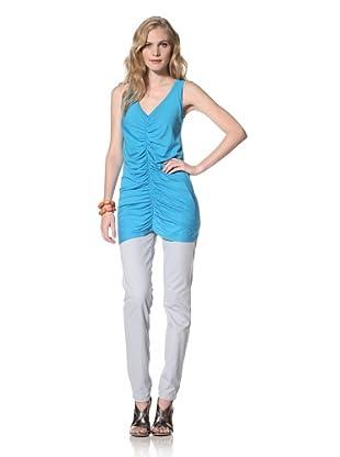 Susana Monaco Women's Olivia Shirt (Aquamarine)