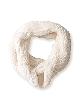 Jocelyn Women's Sheared Rabbit Knitted Cowl, Blush