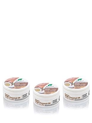 Dr.Organic Set 2 Manteca Ligera para el Cuerpo de Coco 200 ml (u)