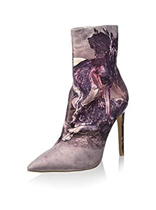 Jeffrey Campbell Stivaletto Grafit Lo Fab Print