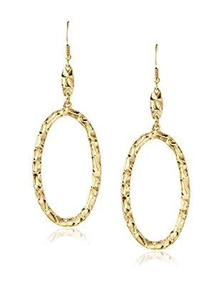 Karine Sultan Jewelry Hammered Hoop Earrings