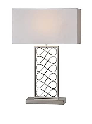 Lyla Lamp, Brushed Nickel