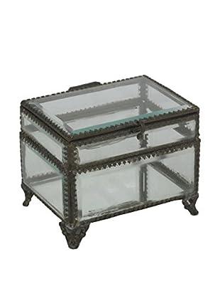 Three Hands Iron & Glass Box