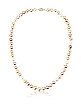 Radiance Pearls Single Strand 7-8mm Freshwater Pearl Necklace