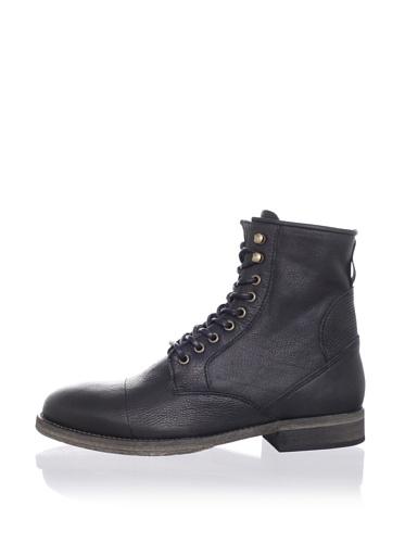 ksubi Men's Newman Lace-Up Boot (Black Cusna)