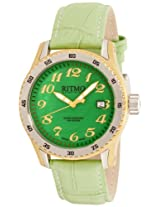 Ritmo Mundo Women's 233 YG Green MOP Extreme Quartz Mother-Of-Pearl Dial Watch