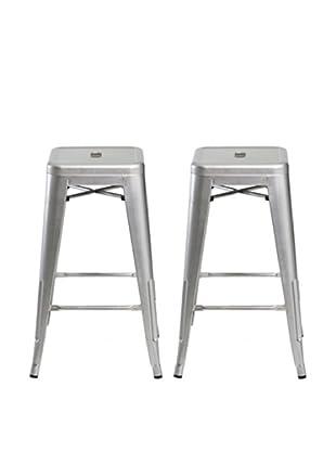 Aeon Furniture Set of 2 Galaxy Barstools