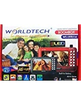 WORLDTECH Portable LED HD Player 4.3 Inches WT-19TF/14 MP4, MP3, USB and FM Portable