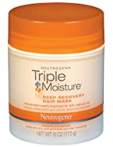 Neutrogena Triple Moisture Deep Recovery Hair Mask, 170g (Pack of 2)