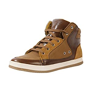 Bacca Bucci 8611 Men's Brown Leather Sneakers